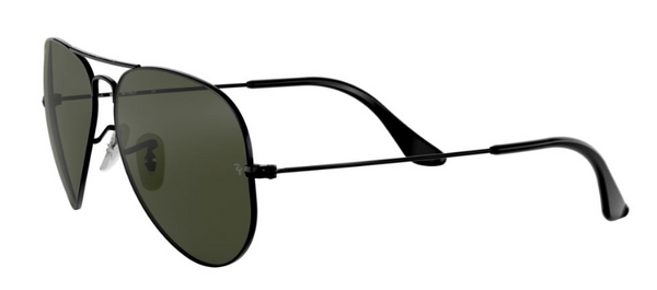 RAY-BAN All Black Aviator RB 3025 L2823
