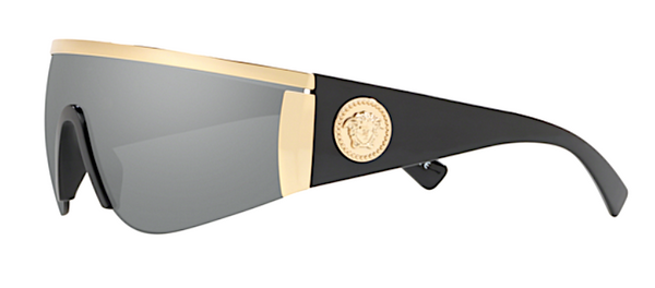 VERSACE MOD VE 2197 10006G Shield Sunglasses