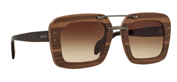 PRADA WOOD SUNGLASSES PR 30RS 1AM6S1