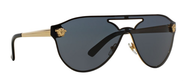 VERSACE MOD VE 2161 100287 Shield Sunglasses