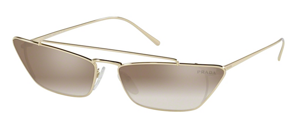 PRADA SPR 64U ZVN4O0 Small Slim Cat Eye Sunglasses
