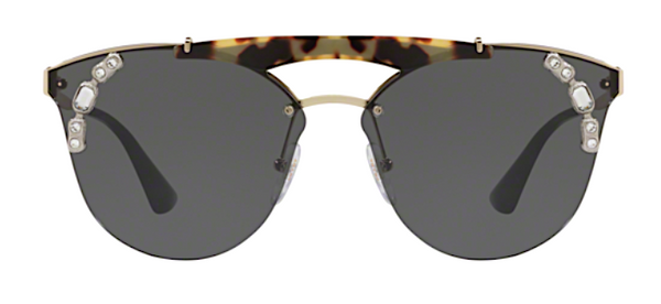 PRADA SPR 53U IBN5S0 Ornate Oversized Sunglasses