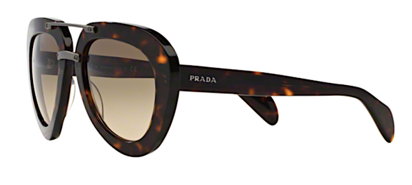 SPR 28R 2AU3DO Large Oversized Prada Aviator
