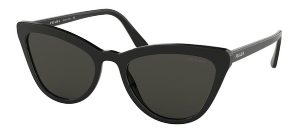 PRADA PR 01VS 1AB5S0 Cat Eye Sunglasses