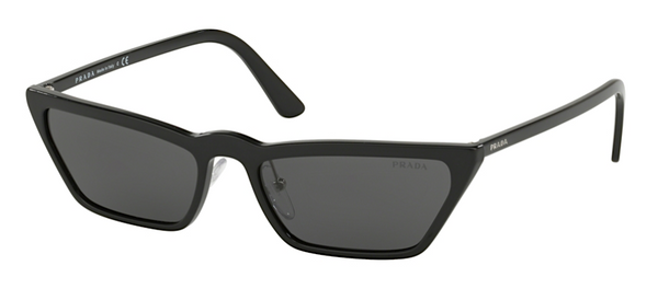 Prada Slim Cat Eye SPR 19U 1AB5S0 Sunglasses