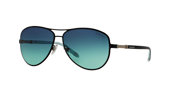 TIFFANY & Co. TF 3048 B | BLACK AND TIFFANY BLUE -  - Sunglasses - Sunglass Trend - 1