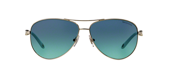 Tiffany and Co Aviator Sunglasses with Blue Lens | TF 3049 B 60019s
