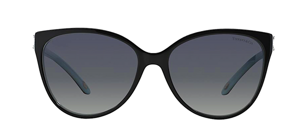 TIFFANY & Co. TF 4089B 80553C | BLACK AND TIFFANY BLUE -  - Sunglasses - Sunglass Trend - 2