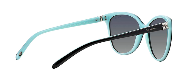 TIFFANY & Co. TF 4089B 80553C | BLACK AND TIFFANY BLUE -  - Sunglasses - Sunglass Trend - 4