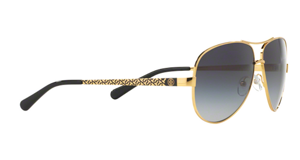 TORY BURCH TY 6035 SILVER Aviator Sunglasses
