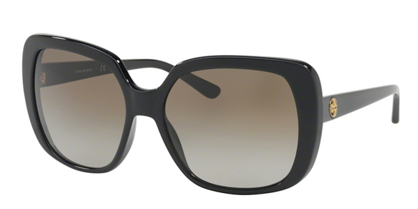 TORY BURCH Black Oversized Sunglasses TY 7112 137713