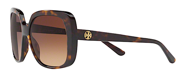 TORY BURCH 7112 137813 Large Square tortoise Sunglasses