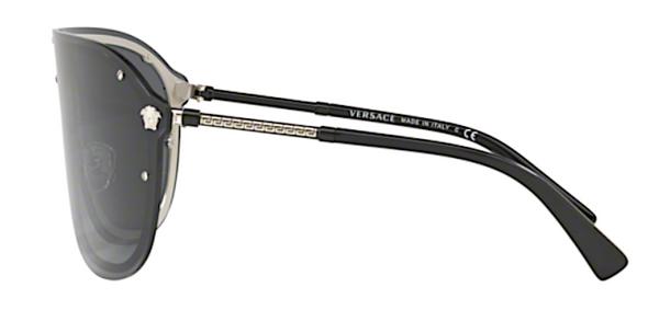 VERSACE LARGE SHIELD SUNGLASSES