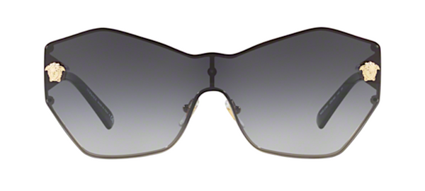 Versace Butterfly Style Shield Sunglasses