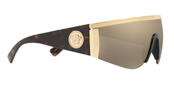 VERSACE MOD VE 2197 10005A Shield Sunglasses