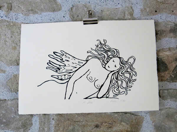 """At Peace"" Screen print"