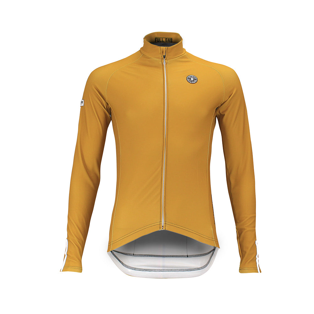 'Boom' Pro Thermal Jersey (Flemish Gold)