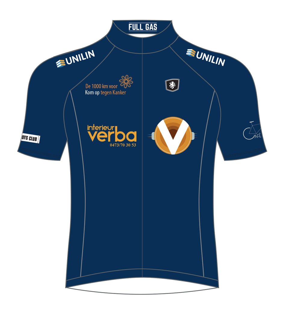 CANCER CHARITY JERSEY (NAVY BLUE)