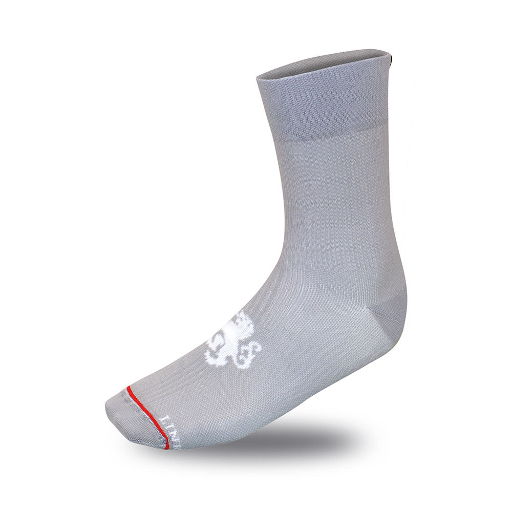 'Signature' High Tops Grey Socks