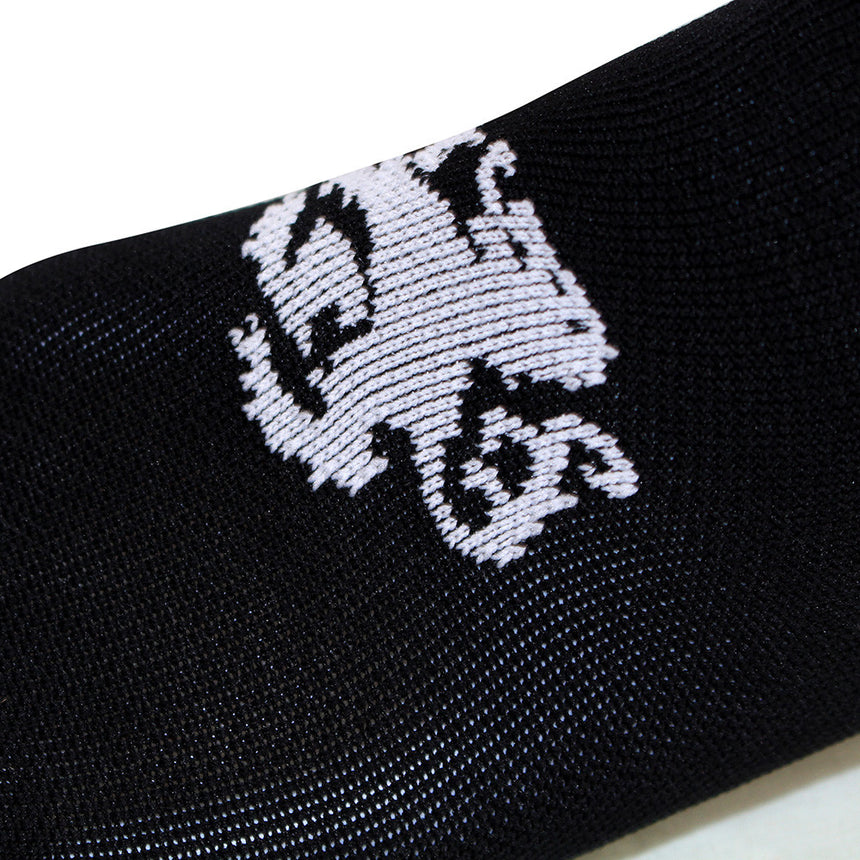 'Signature' High Tops Black Socks