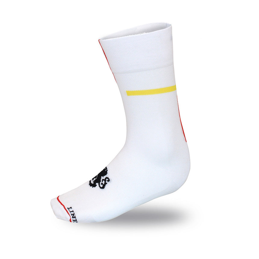'Philip the Handsome' High Tops White Socks
