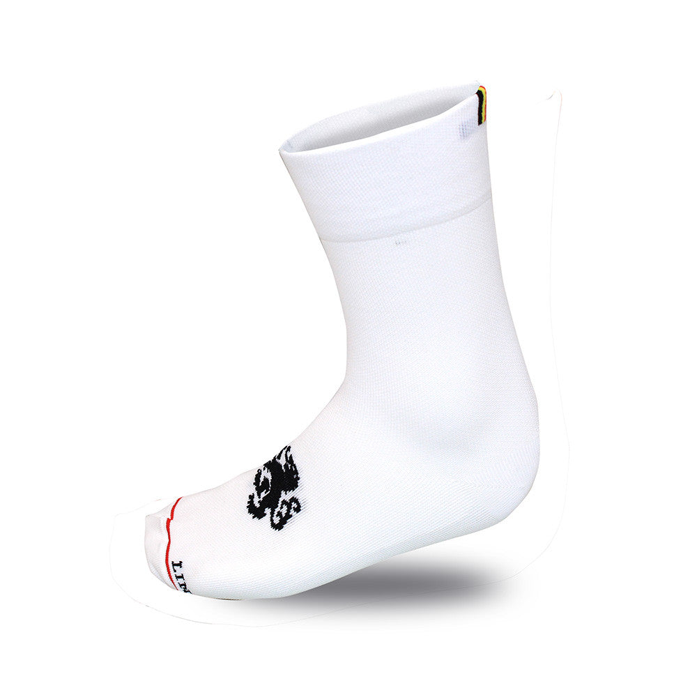 'Signature' High Tops White Socks