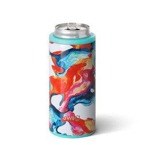 Swig Skinny Can Cooler in Color Swirl