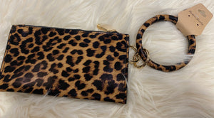 Wristlet With Key Ring