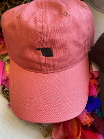 Coral state hat