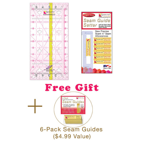 Perfect4Patttern Sets with 1, 2 or 3 Guidelines Rulers