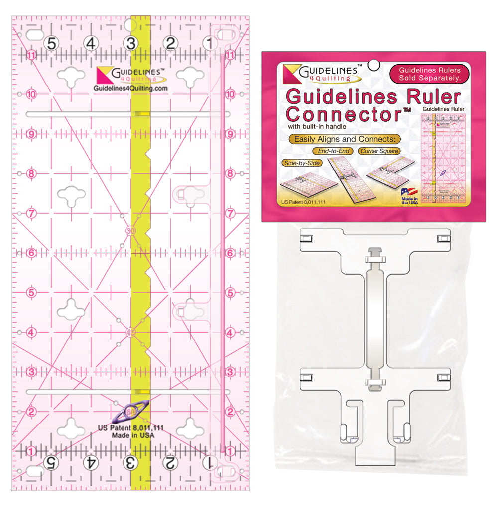 1 Guidelines Ruler + Connector Set