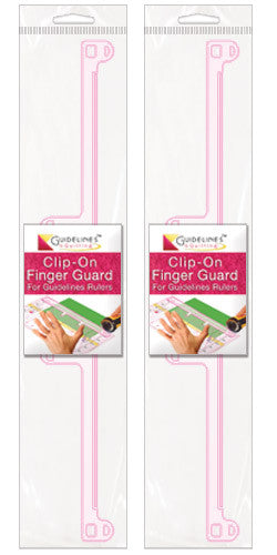 2 Finger Guards for Guidelines Rulers - Save 25%