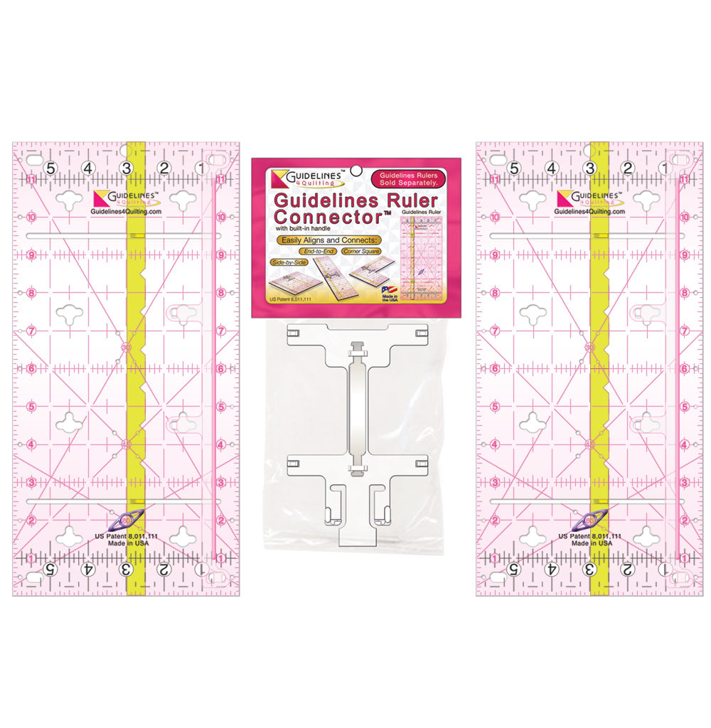 2-Guidelines-Ruler Set with 1 Connector