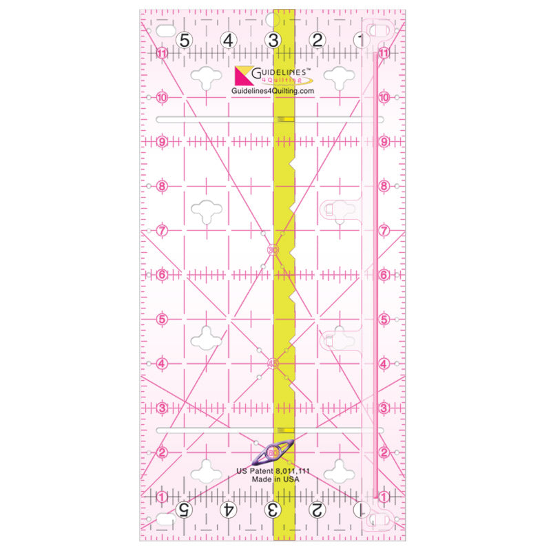 "New Guidelines Ruler (6""x12"")"