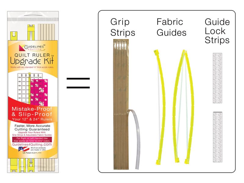 Quilt Ruler Upgrade Kit by Guidelines4Quilting