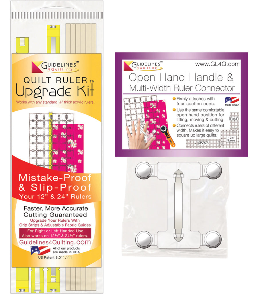 Handle / Quilt Ruler Upgrade Kit Combo