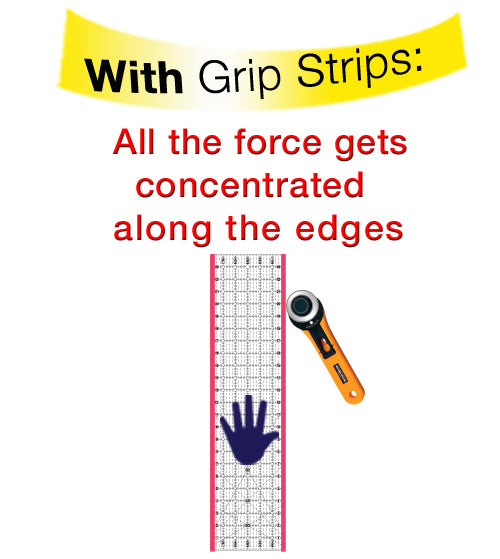 Grip Strips Trio by Guidelines4Quilting