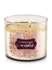 BBW 3 Wick Candles
