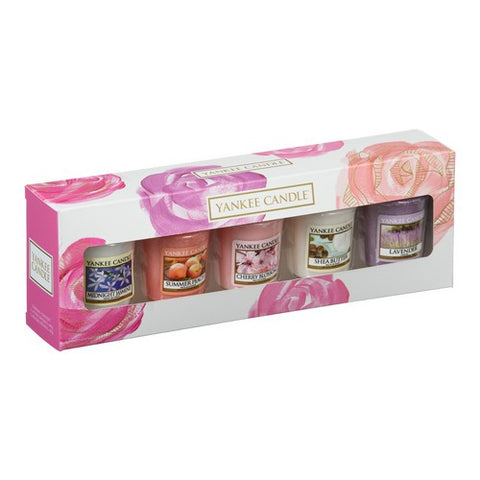Mother's Day 5 Votive Gift Set