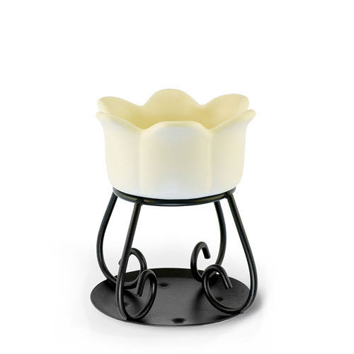 Petal Bowl-Cream Wax Melt Burner
