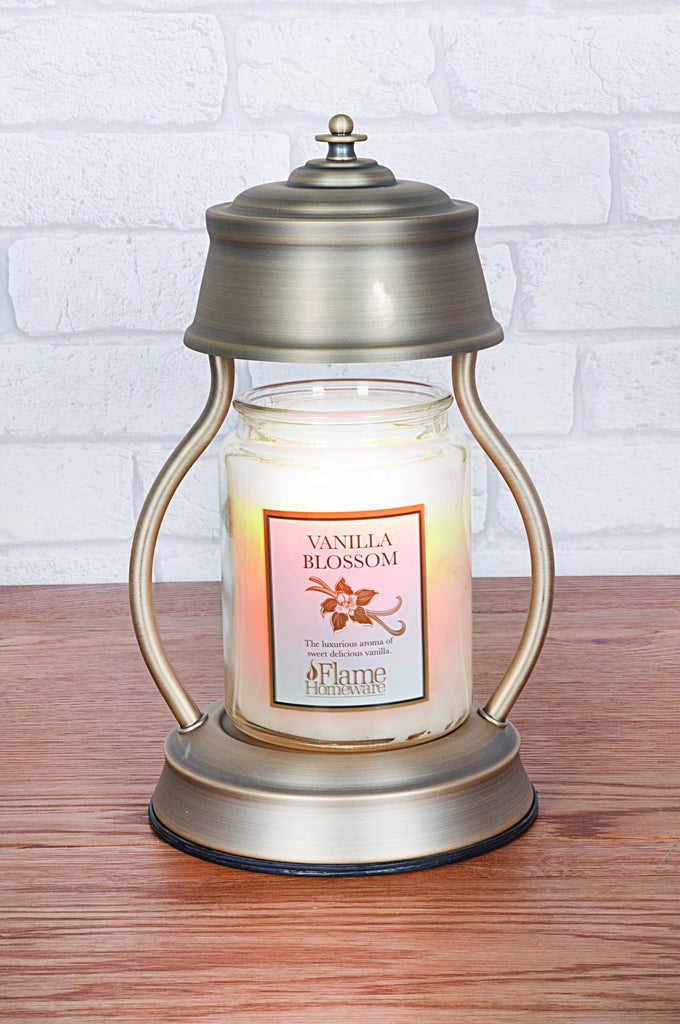 Gold Candle Warmer