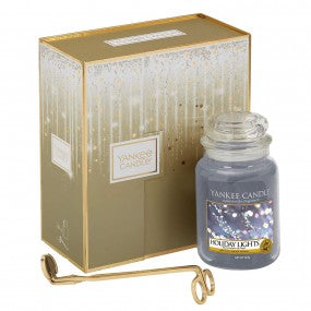 Large Candle & Wick Trimmer Gift Set