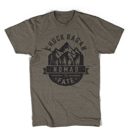 """Nomad By Fate"" Shirt - Heather Brown"