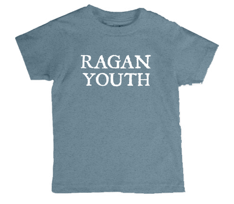 """Ragan Youth"" Shirt - Pacific Blue - Youth"