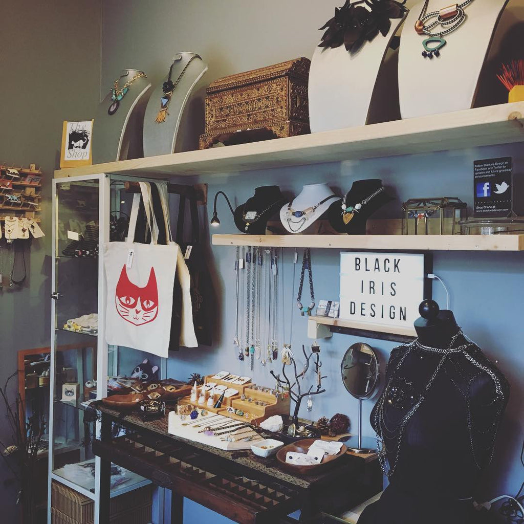 Black Iris Design new Toronto Jewellery Boutique and Art Shop
