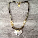 Aura Necklace (white)