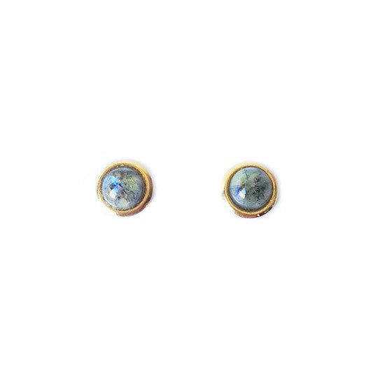 Mini Planet Earrings (Light Blue)