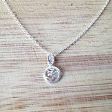 Om Necklace Sterling Silver