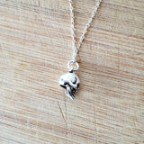Sterling Silver Skull Necklace