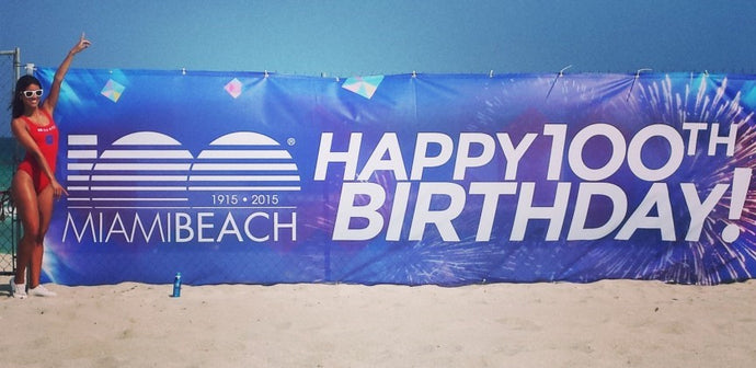 Happy Birthday Miami Beach!